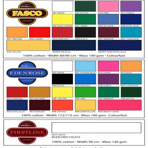 FASCO & EDENROSE 100% COTTON